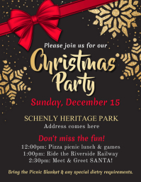 Christmas Party Flyer.Customize 6 440 Christmas Templates Postermywall