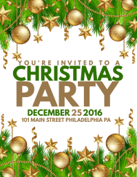 Christmas Party  Christmas Party Tickets Templates
