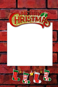 Christmas Party Prop Frame