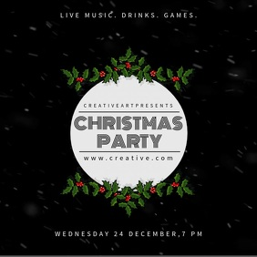 Christmas Party Video Template