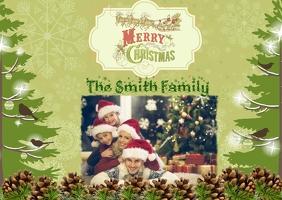 Christmas Photo Postcard