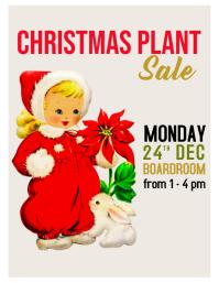 Christmas plant sale