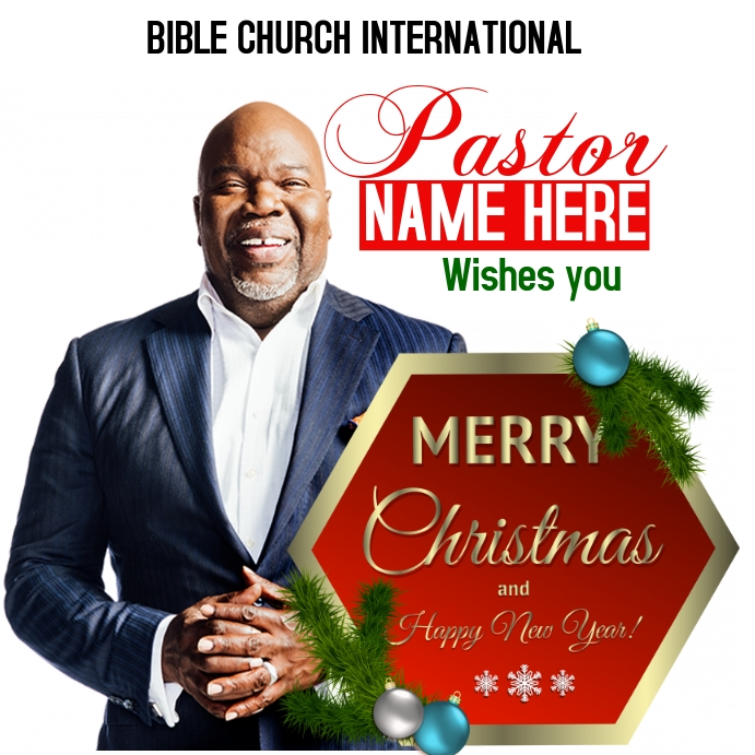 Christmas Poster Message Instagram template