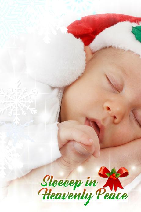 Christmas Poster Plakat template