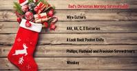 Christmas Poster Facebook template