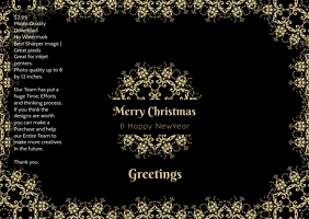 Christmas poster greetings