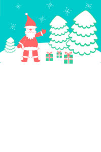 Christmas โปสเตอร์ template