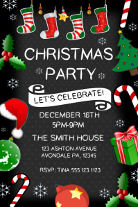 32 850 customizable design templates for christmas party event