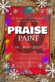 Christmas Praise & Paint