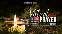 Christmas Prayer Online Digital Display (16:9) template