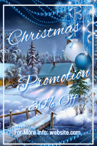 Christmas Promotion Template
