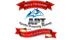 Christmas property real estate logo