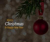 Christmas Quote Medium Rectangle template
