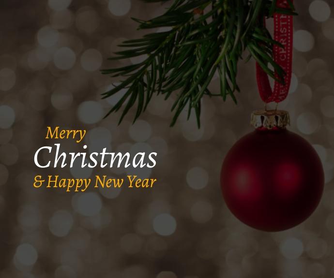 Christmas Quote Persegi Panjang Sedang template