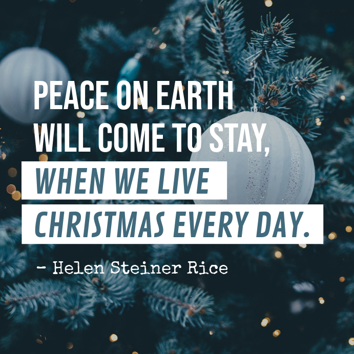 Christmas Quote Instagram Post template