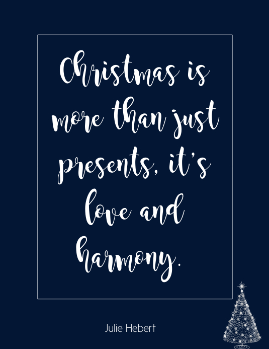 Christmas Quote wall art
