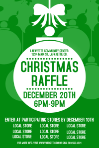christmas raffle poster templates - 80 customizable design templates for raffle postermywall