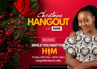 Christmas relationship event flyer