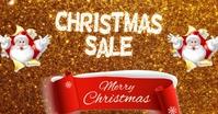 Christmas retail Facebook Gedeelde Prent template
