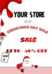 Christmas Retail Flyer