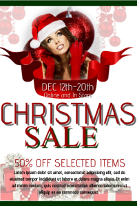 Christmas Retail Flyer