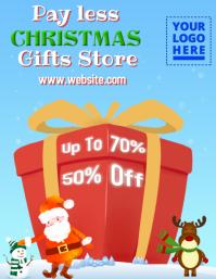 Christmas Retail Poster