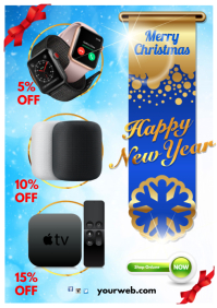 Christmas Retail Poster