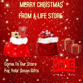 Christmas Retail Template