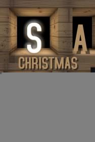 Christmas sale Poster Template,christmas retail template