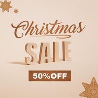 Christmas Sale Ad Template 专辑封面