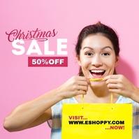 Christmas Sale Ad Template Обложка альбома