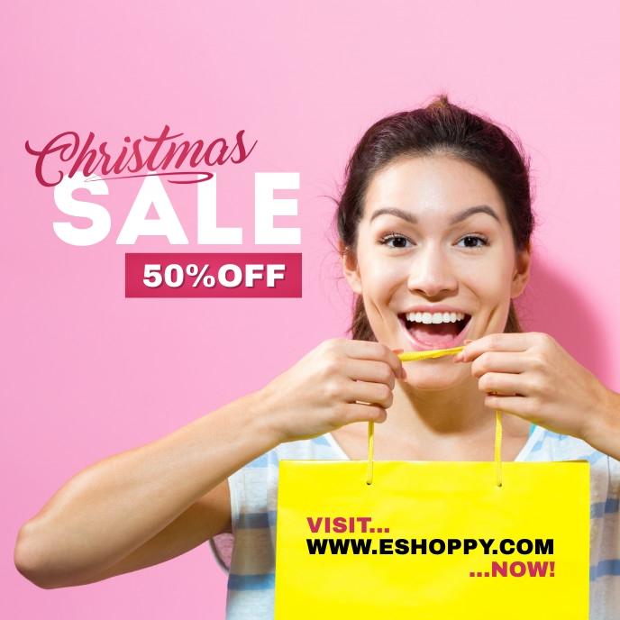 Christmas Sale Ad Template Sampul Album