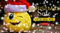 Christmas sale Digital Display (16:9) template