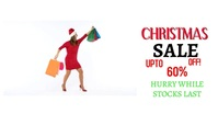 Christmas Sale Facebook Event Cover template