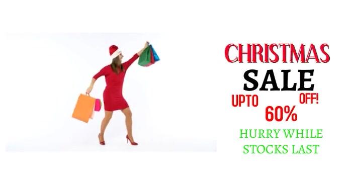 Christmas Sale Sampul Acara Facebook template