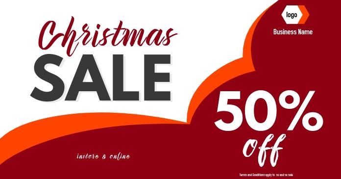 christmas sale digital display