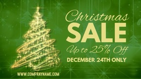 Christmas Sale Digital Post Template