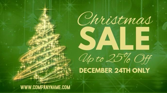 Christmas Sale Digital Post Template
