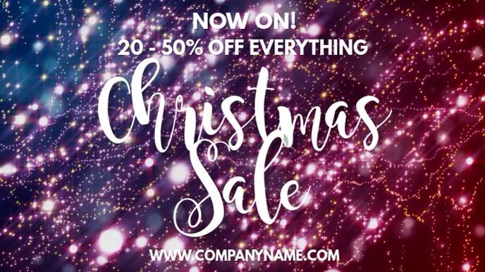 Christmas Sale Digital Template