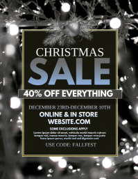 Christmas Sale Flyer (US Letter) template
