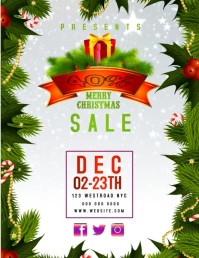 CHRISTMAS SALE FLYER VIDEO TEMPLATE
