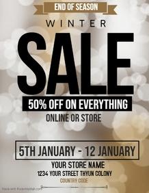 Christmas sale flyers,,winters sale flyers