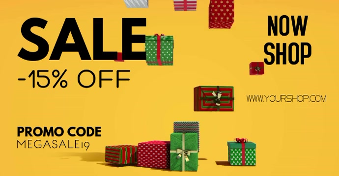 Christmas Sale Gifts Retail Store Shopping ad