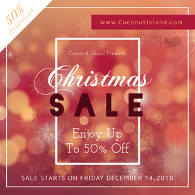 Christmas Sale Instagram Image template