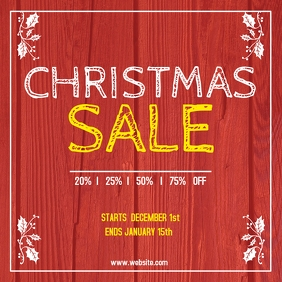 Christmas sale Instagram Post Advertisement