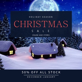 Christmas Sale Instagram Video Template