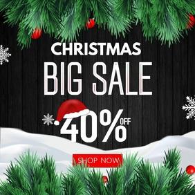Christmas Sale Instagram Video Template
