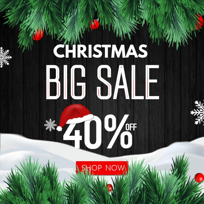 5,330+ Customizable Design Templates for Christmas Discount ...