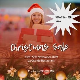 Christmas sale post