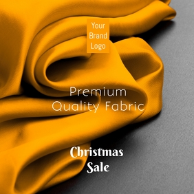 Christmas sale poster flyer template